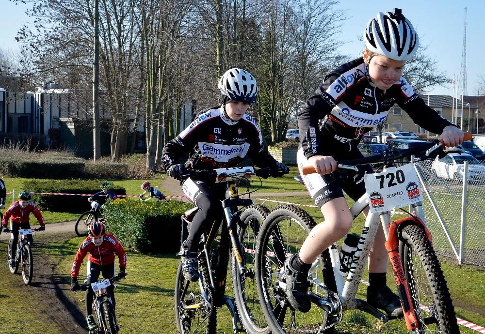 Når du bliver rigtig sej er der mulighed for at deltage i rigtige MTB-løb. Foto: Jens Nielsen