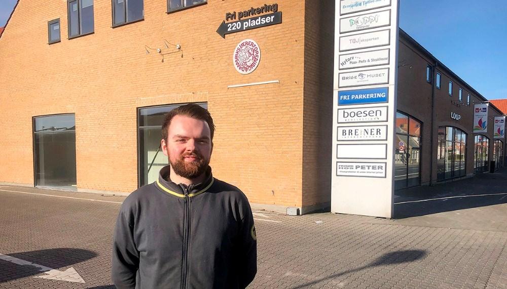 Butikschef Netto Kalundborg, Frederik Erck. Foto: Jens Nielsen