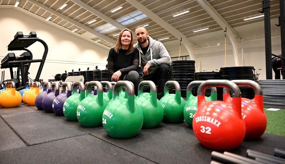 Shannie og Michael da Silva, indehavere af CrossFit Kalundborg. Foto: Jens Nielsen