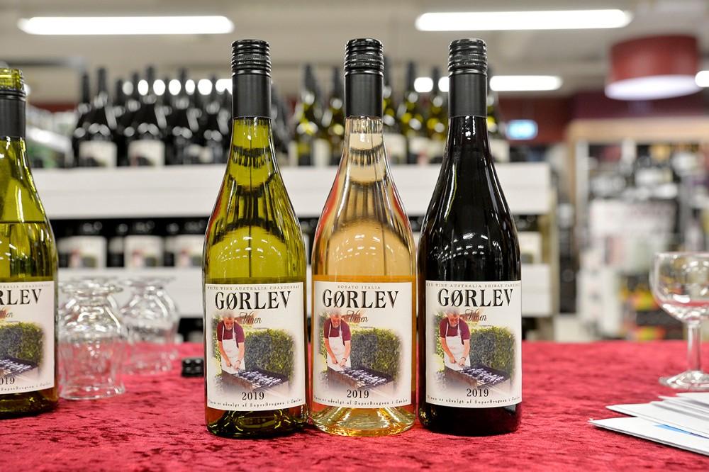 Gørlev vinen findes både som hvid, rosé og rød.