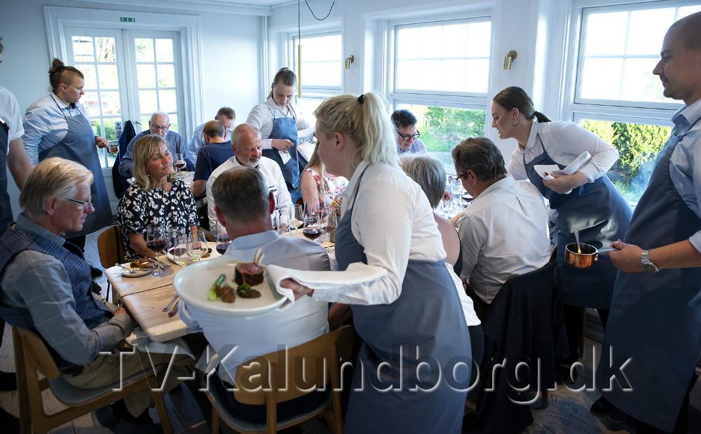 Restaurant Naes i Kalundborg inviterer til gourmetaften med to af Danmarks bedste kokke. Foto:Jens Nielsen