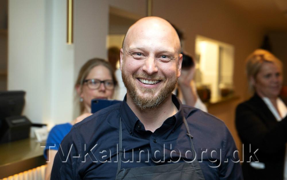 Restautør på Restaurant Naes, Henrik Jyrk. Foto: Jens Nielsen