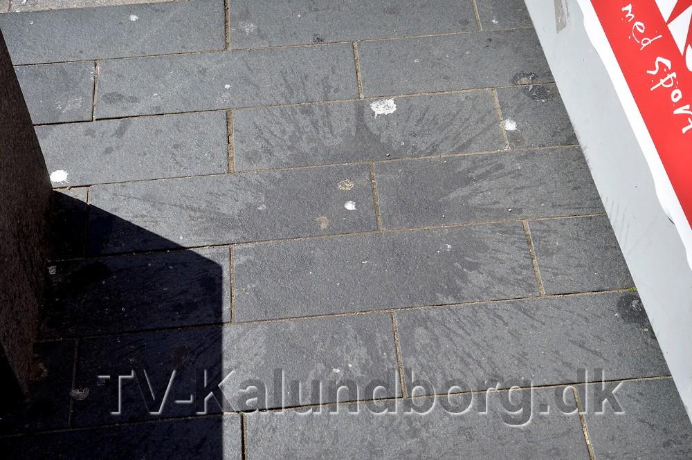 Kordilgadeer et stort mønster af mærkelige ubestemmelige klatter og plamager. Foto: Jens Nielsen