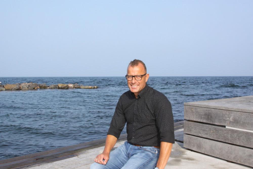 Christian Møller stiller op for Røsnæs Venstre. Foto: Gitte Korsgaard.