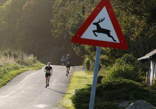 Smukt løb på Asnæs