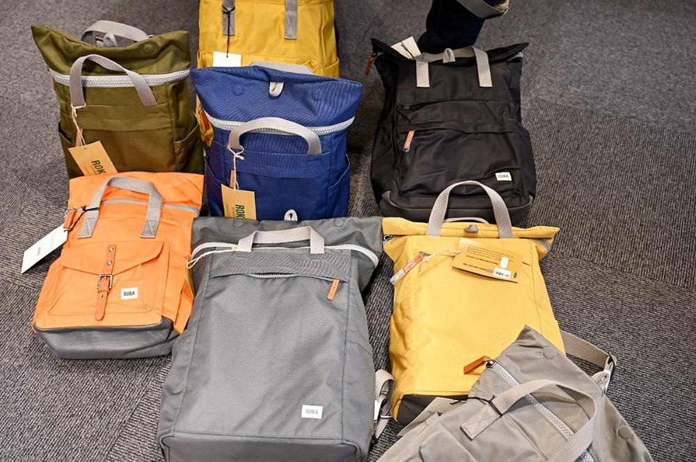Nu kan de populære Roka rygsække købes i Skoringen i Kalundborg. Foto: Jens Nielsen