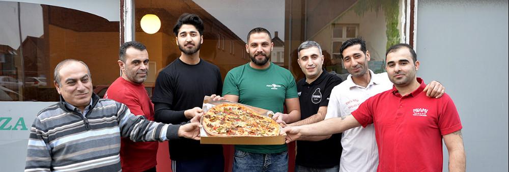 Syv lokale pizzeriaer går nu sammen om deres eget bestillingssystem. Foto: Jens Nielsen