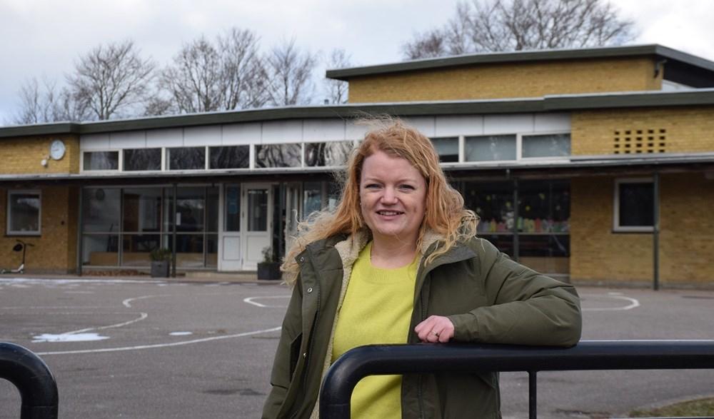 Cathriona Cantio er ny bestyrelsesformand på Friskolen på Røsnæs. Foto: Gitte Korsgaard.