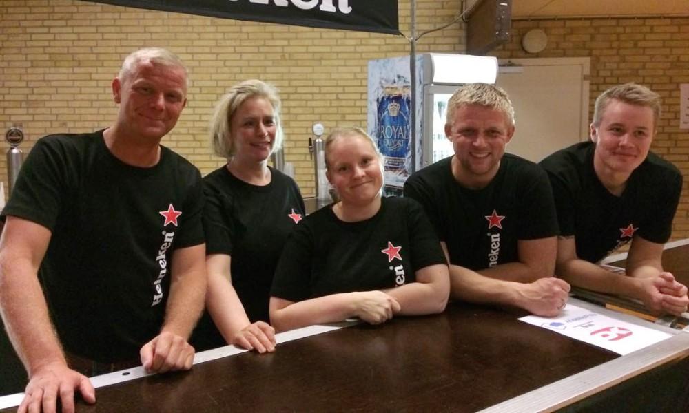 Hjælpere fra TGU. Privatfoto