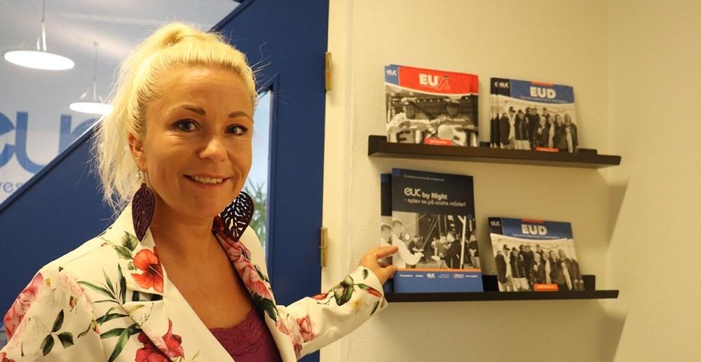 """""""Vi er rigtig glade for den stærke fagtradition, der eksisterer i Kalundborg,""""udtaler Malene Grandjean, vicedirektør EUC Nordvestsjælland. Privatfoto"""