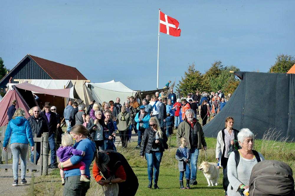Tissø Vikingemarked samler hvert efterår tusindvis af gæster, nu inviteres der også tilsankthans-festligheder. Arkivfoto: Jens Nielsen