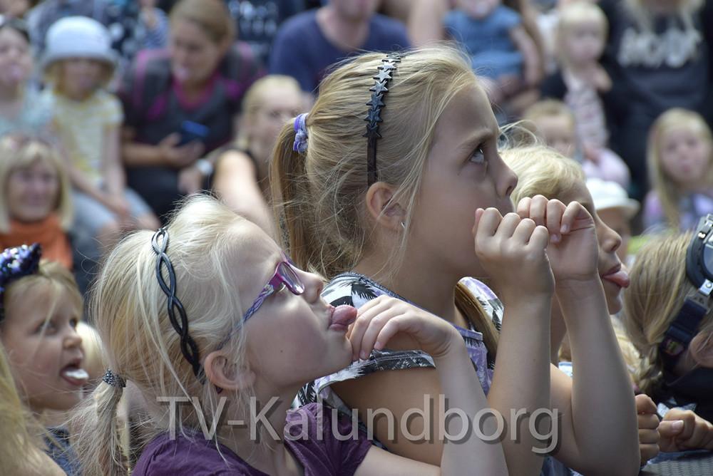 Motor Mille tog 1.800 børn og voksne med storm i formiddag. Foto: Gitte Korsgaard.
