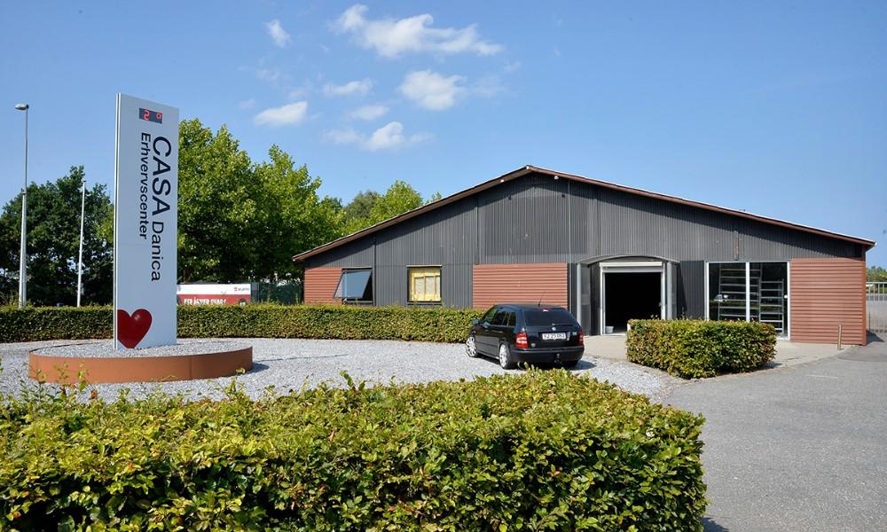 Würth Danmark åbner butik på Hareskovvej i Kalundborg sidst på året. Foto: Jens Nielsen