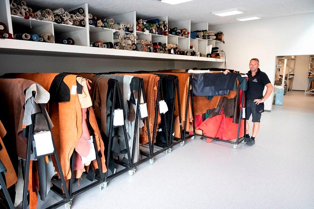 Lageret til systuen har også fået mere plads. Foto: Jens NielsenFoto: Jens Nielsen