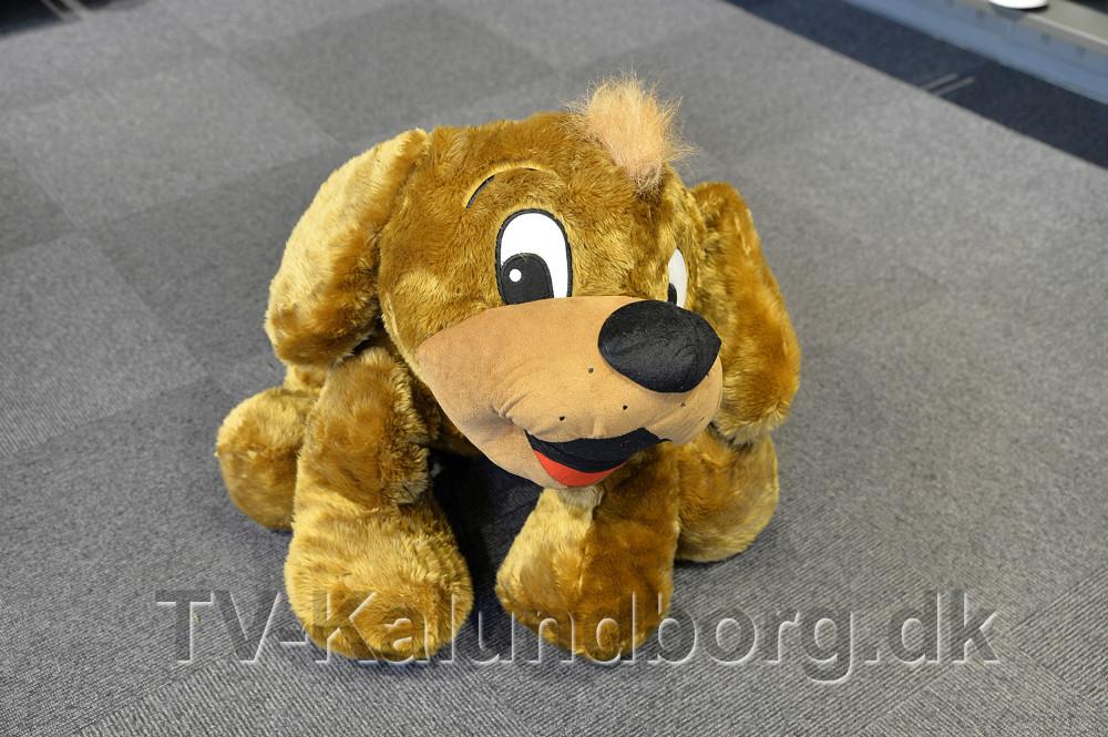 Den store tøjhund Skofus kan vindes. Foto:Jens Nielsen