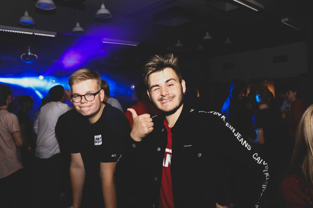 Introfest på Allikelund Gymnasium fredag aften var populær.
