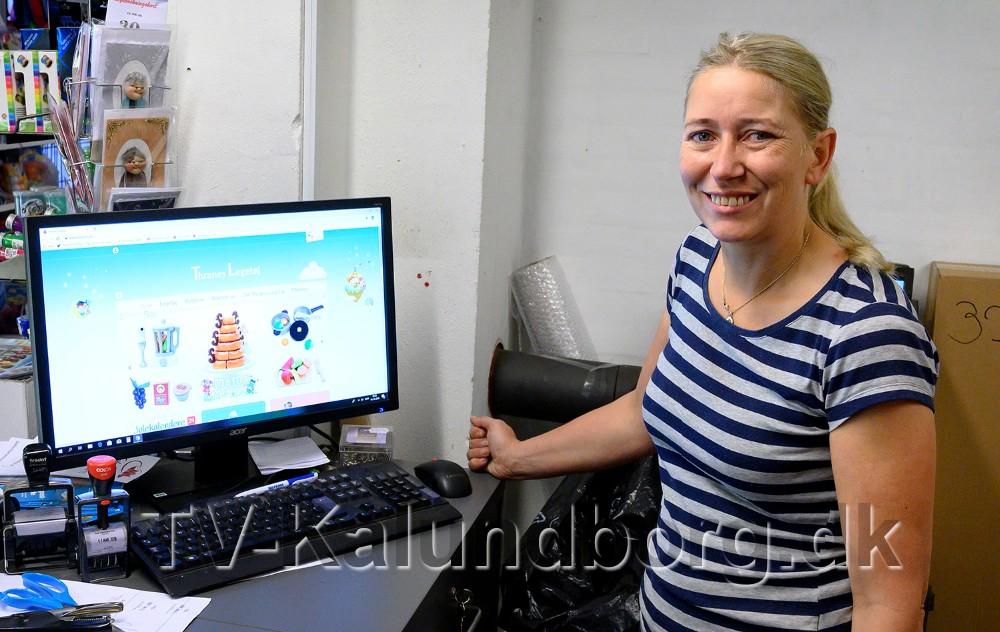 Mette Thrane er klar med en helt ny webshop med legetøj. Foto: Jens Nielsen