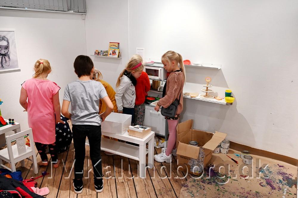Der er lavet et nyt børnehjørne i Bistroen. Foto: Jens Nielsen