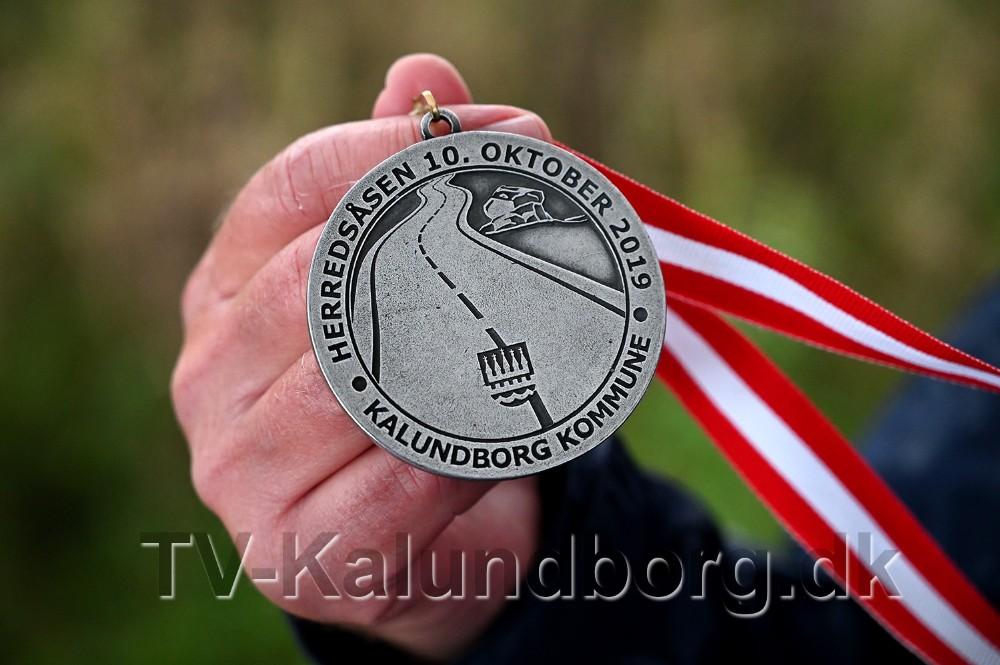 Der var medaljer til de første 200 løbere. Foto: Jens Nielsen
