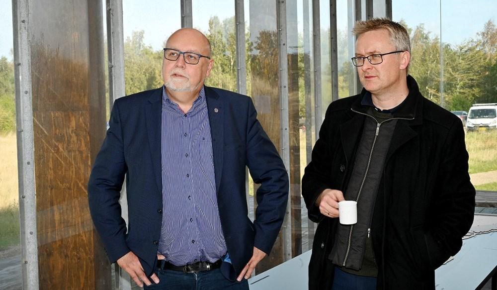 Kristian Pihl Lorentzen og Jacob Jensen. Foto: Jens Nielsen