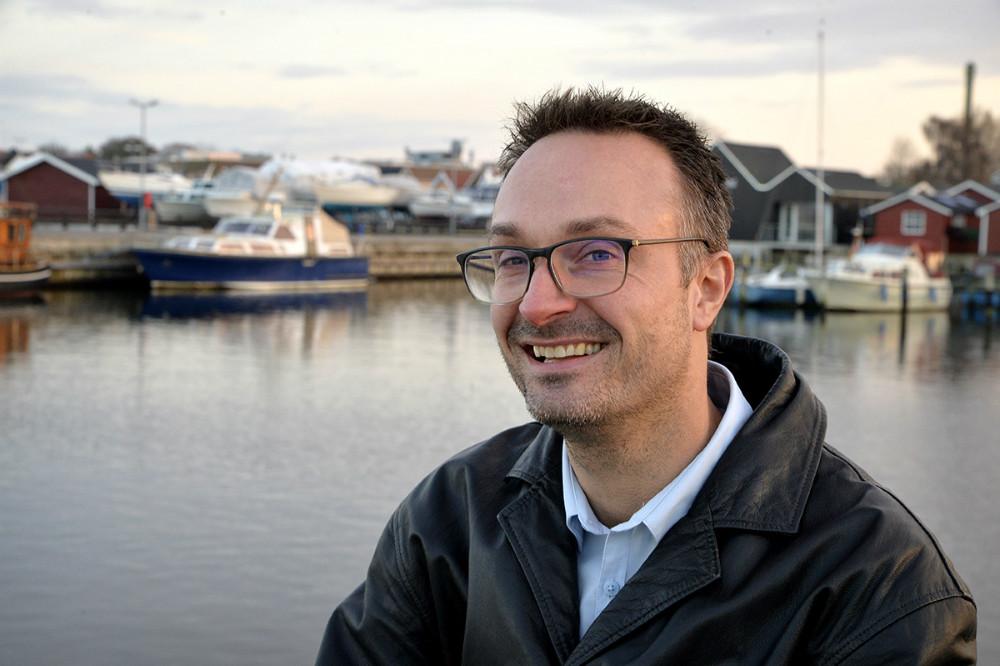 39-årige Kristian Kallenbach vil kæmpe for mere kultur og fritid hvis han bliver valgt til kommunalbestyrelsen. Foto: Jens Nielsen