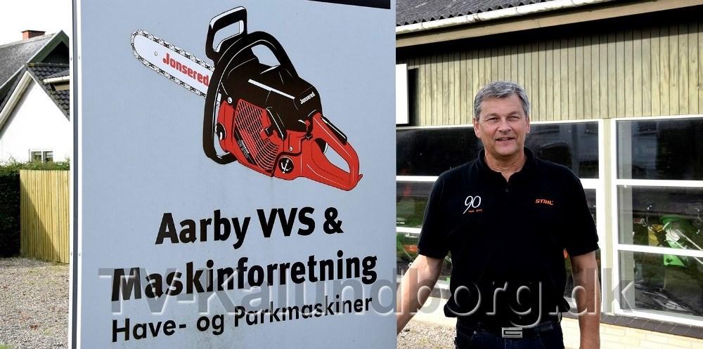 Åbent Hus i den kommende weekend hos Årby VVS. Arkivfoto: Gitte Korsgaard.