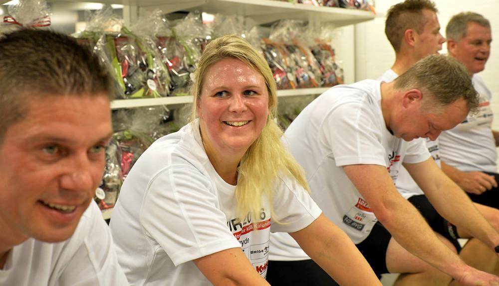 Anne Bryde var eneste kvindelige deltager. Foto: Jens Nielsen
