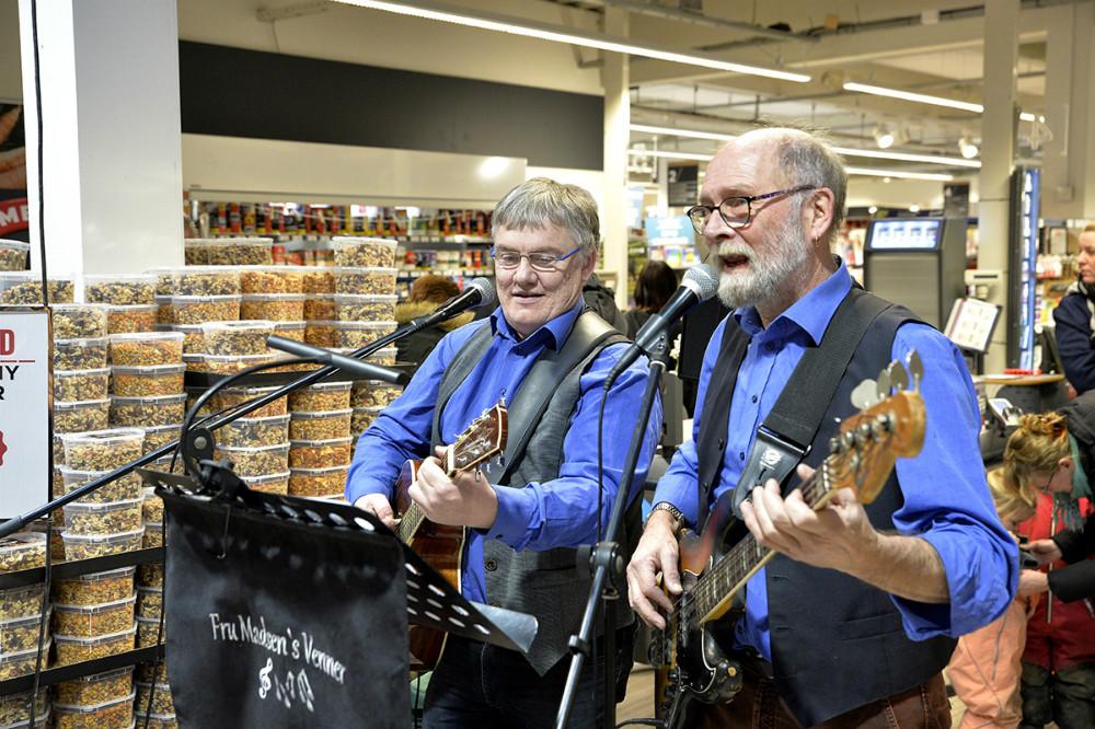 Musikken blev leveret af Fru Madsens Venner. Foto: Jens Nielsen