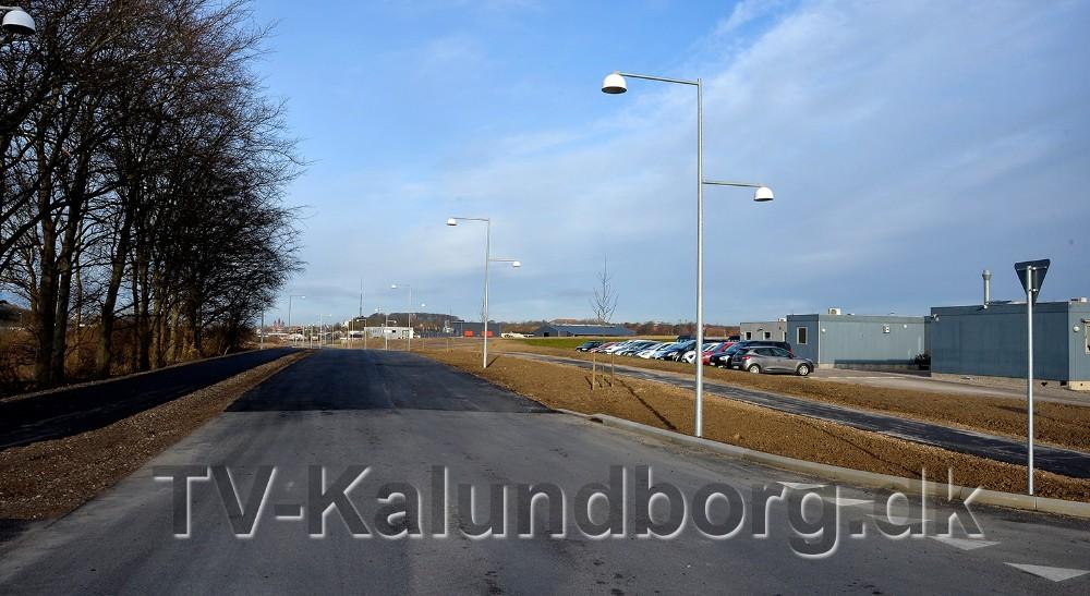 Det nye vejstykke forbinder Stejlhøj med Rynkevangen. Foto: Jens Nielsen