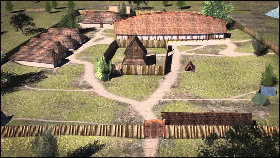 Kongsgården ved Tissø - gennem 500 år tilholdssted for magtfulde vikingekonger.