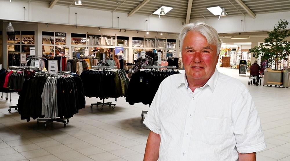 Mogens Gyldenvang håber på opbakning fra kunderne. Foto: Jens Nielsen