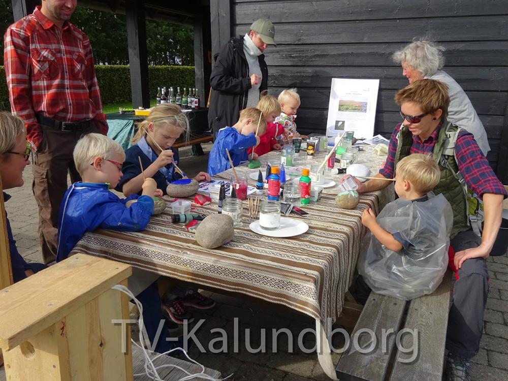 Dansk Naturfredningsforening og Naturpark Åmosen afholdte Naturens dag i søndags på Fugledegård. Privatfoto