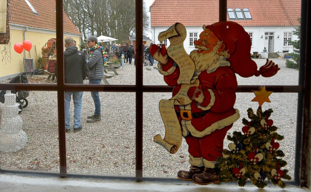 Julemarked på Dyrehøj Vingaard. Arkivfoto Jens Nielsen.