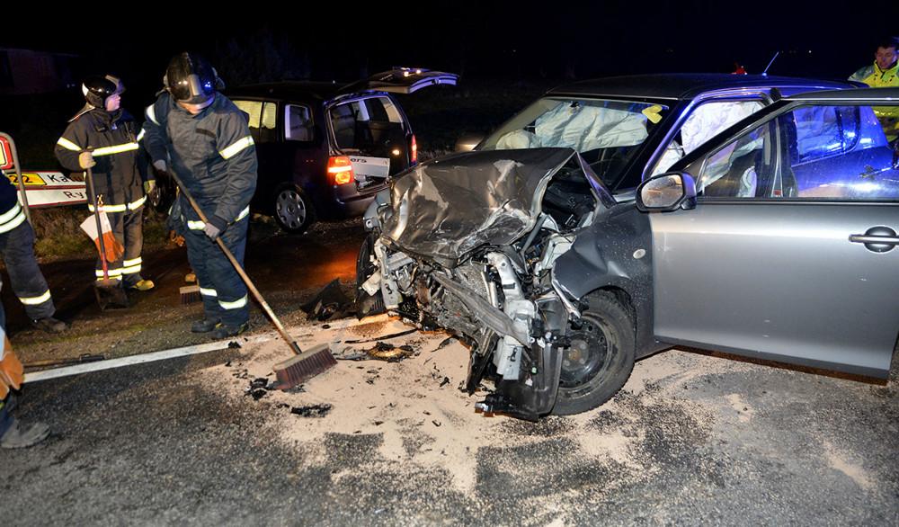 Biloen som den yngre mand var kørende i. Foto: Jens Nielsen