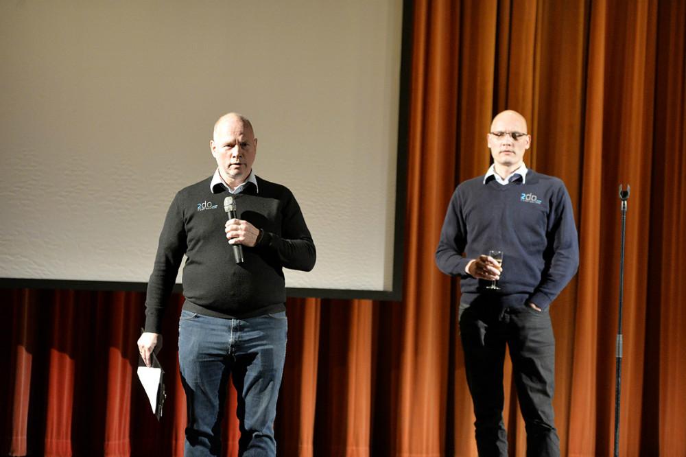 Tommy Jensen og Danny Månsson, indehavere af 2do it. Foto: Jens Nielsen
