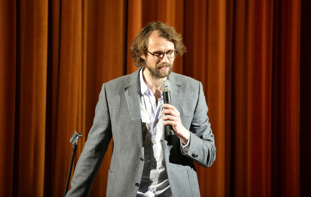Stand-up-komiker Carsten Eskelund underholdte gæsterne. Foto: Jens Nielsen
