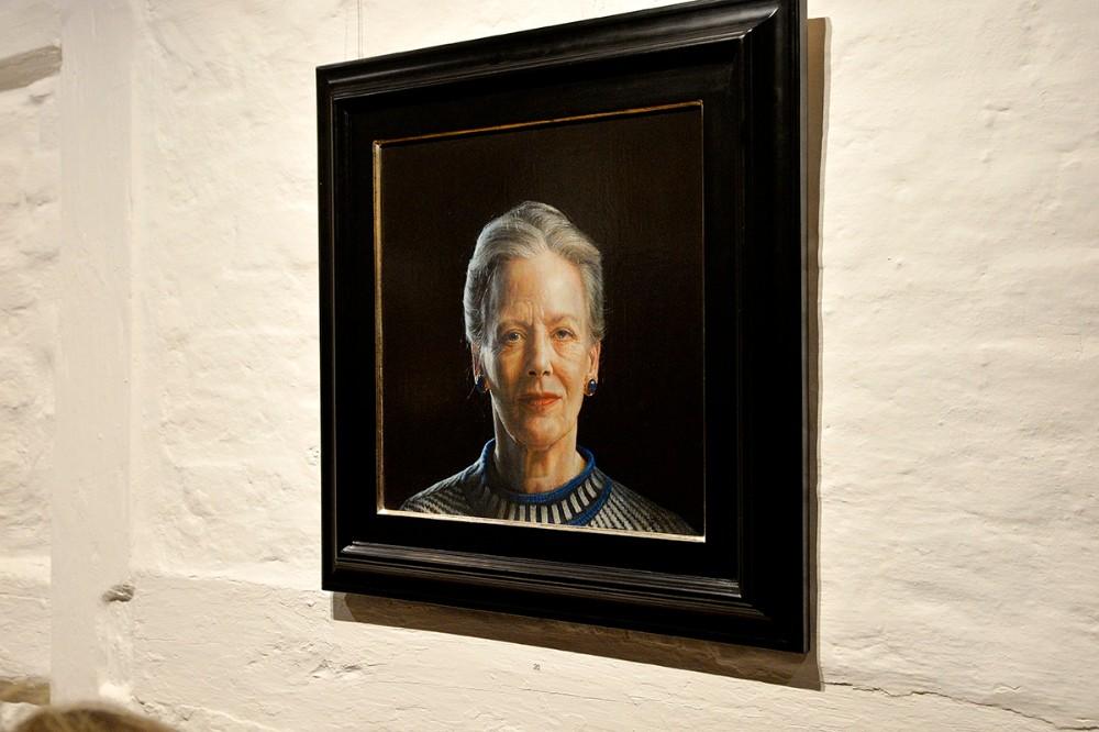 Portrættet af H.M. Dronningen er venligst udlånt af prins Joachim. Foto: Jens Nielsen