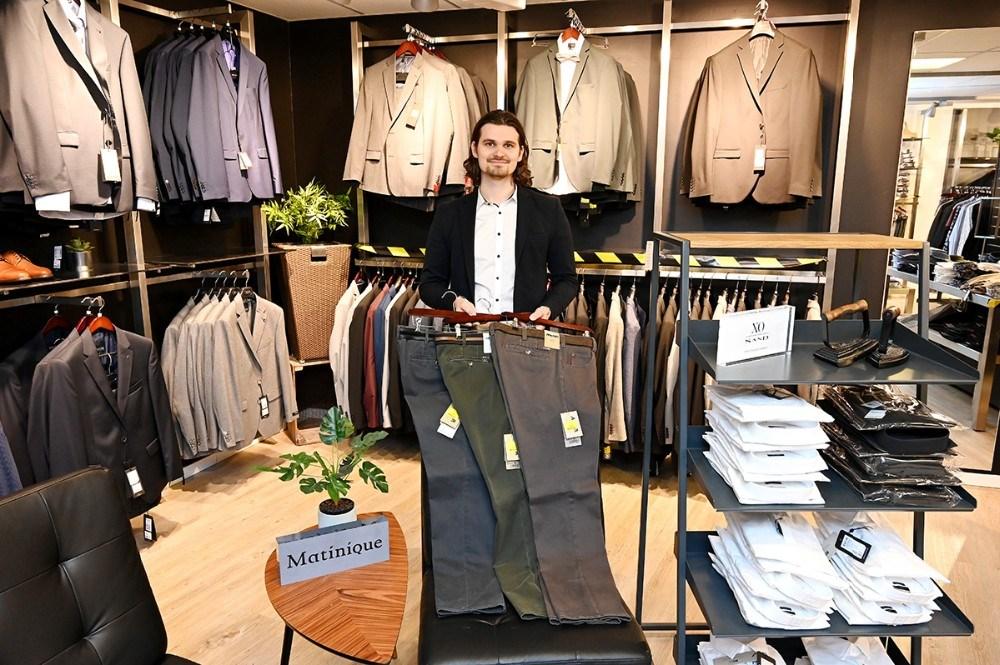Mikkel Thisgaard fra Bech Menswear. Foto: Jens Nielsen