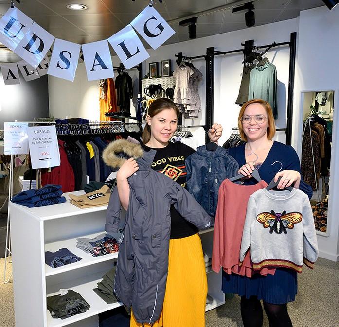 Hildi Petersen og Ditte Julie Rosendahl Kaa, indehavere af Gliimt. Foto: Jens Nielsen