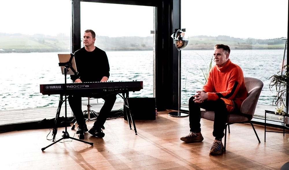 Martin Jensen afholdte Boot Camp i Aktivitetshuset på Nyby Havn. Foto: Lasse Lagoni / TV 2.