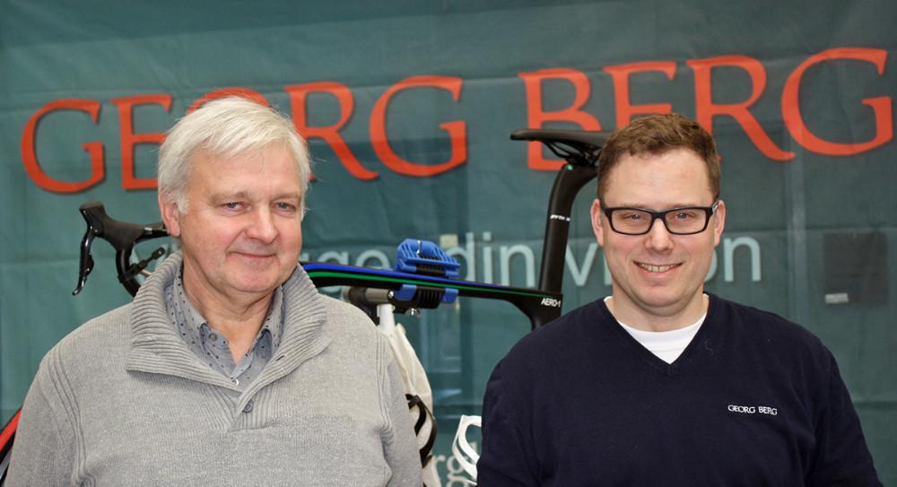 Sportsdirektør Ib Ole Lisson og teammanager Christian Berg. Foto: Christian Winnem