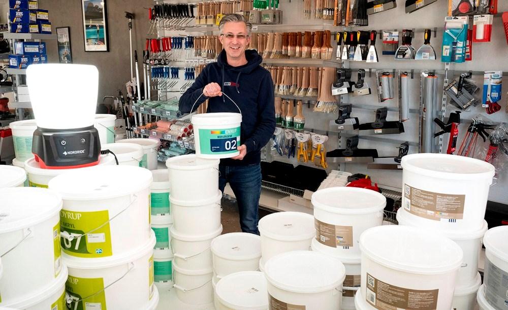 Butikschef Jack Egebjerg. Foto: Jens Nielsen