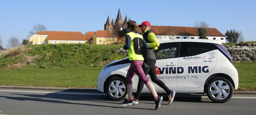 Nu har du mulighed for at vinde et helt ny Toyota Aygo, hvis du deltager i 5 Tårns løbet i Kalundborg den 7. maj. Privatfoto