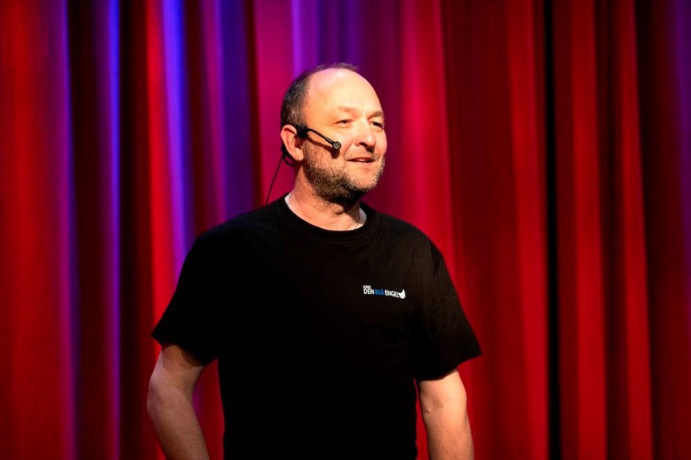 Brian Sønder Andersen bød velkommen. Foto: Jens Nielsen