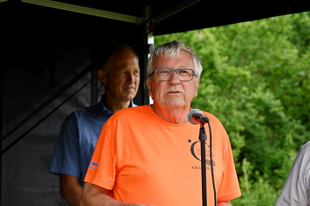 formand for styregruppen til Stafet For Livet Kalundborg, Ole Lauritzen. Foto: Jens Nielsen