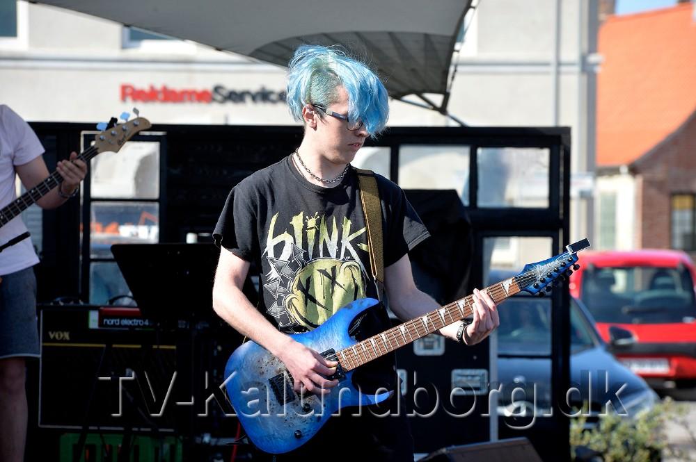 Alexander Westy Evason er en del af bandet Bente Potato Chips. Foto: Jens Nielsen