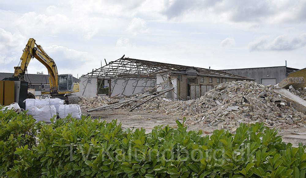 Pladsen, hvor de nye faciliteter skal opføres. Foto: Gitte Korsgaard.