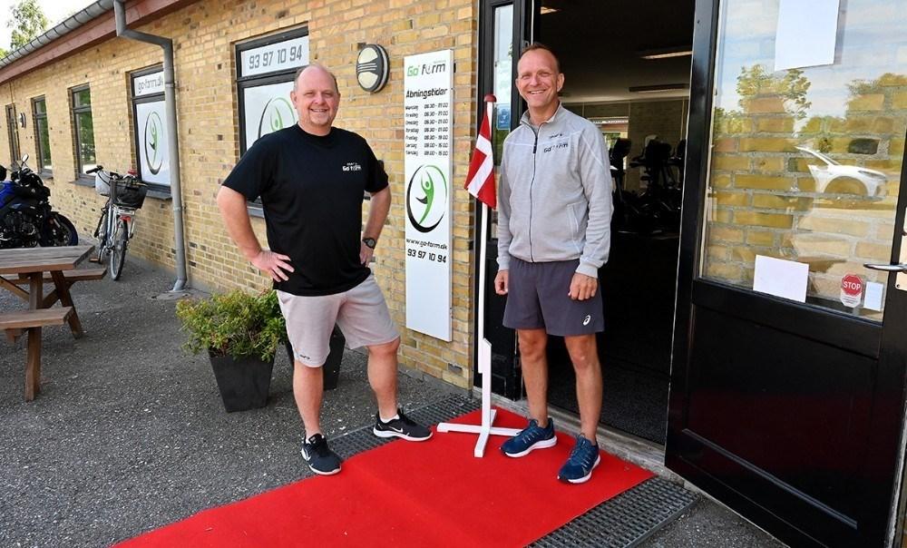 Søren Lund Larsen og Thomas Saaby Hansen, indehavere af Go Form i Kalundborg, tilbyder forløbet Fit og Slank i små grupper. Arkivfoto: Jens Nielsen