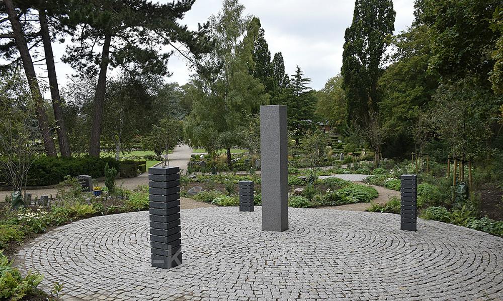 Indvielse og åbent hus på Sct. Olai Kirkegård lørdag den 14. september. Foto: Gitte Korsgaard.