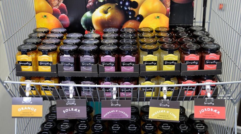 En ny marmeladeserie er blevet et hit. Foto: Jens Nielsen